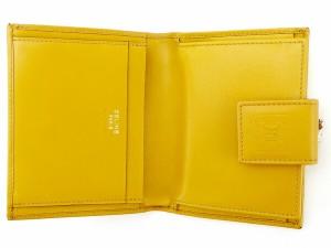 セリーヌ Celine がま口財布 二つ折り 財布 メンズ可 マカダム人気 良品【中古】 A1597