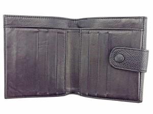 シャネル CHANEL Wホック 財布 二つ折り レディース メンズ 可 ココマーク ヴィンテージ 良品【中古】 T3420