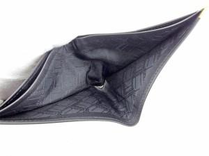 ダンヒル dunhill 二つ折り 札入れ メンズ ロゴプレート コンフィデンシャル 良品 セール 【中古】 T5276
