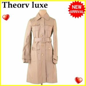 セオリーリュクス Theory luxe コート ワークポケット レディース ♯038サイズ シングル [中古] 激安 セール F1070