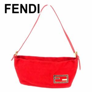 フェンディ FENDI ハンドバッグ ワンショルダー レディース FFプレート [中古] 人気 セール T6735
