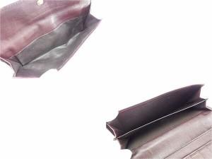 グッチ GUCCI 長財布 Wホック財布 メンズ可 クレストディティール 190350 グッチシマ [中古] 良品 セール L1346