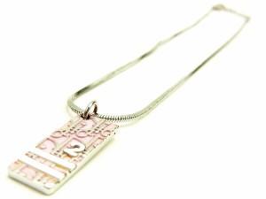 ディオール Christian Dior ネックレス アクセサリー レディース トロッター人気 セール【中古】 Y6959