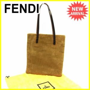 フェンディ FENDI トートバッグ ハンドバッグ レディース メンズ 可 人気 セール【中古】 Y7495