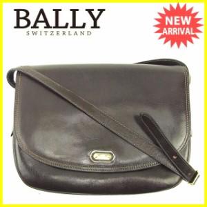 バリー BALLY ショルダーバッグ 斜めがけショルダー メンズ可 Bプレート 人気 セール【中古】 T119