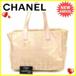 シャネル Chanel バッグ トートバッグ ニュートラベルライン レディース 中古 T454