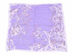 ジバンシィ GIVENCHY スカーフ レディース プリント [中古] 美品 セール D1611