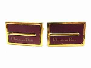 ディオール Dior カフス メンズ ロゴ [中古] 人気 セール J17759