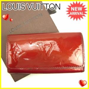 ルイ ヴィトン Louis Vuitton キーケース 4連キーケース レディース ミュルティクレ4 M91976 ヴェルニ [中古] 人気 セール J17771