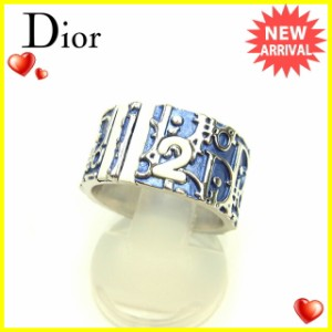 ディオール Dior 指輪 リング アクセサリー メンズ可 ♯12号 トロッター [中古] 美品 セール J17772