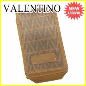 マリオ ヴァレンティノ M VALENTINO シガレットケース タバコケース メンズ可 ロゴ [中古] 良品 セール J17791
