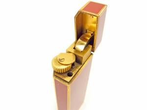 カルティエ Cartier ライター ガスライター メンズ可 ヴィンテージ マストライン [中古] 訳あり ヴィンテージ J17805