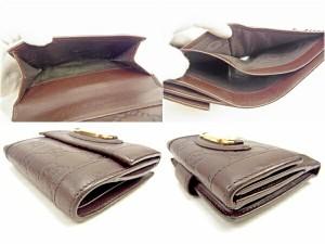 グッチ GUCCI Wホック財布 二つ折り財布 メンズ可 145747 グッチシマ [中古] 人気 セール J17813