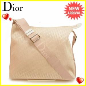 ディオール Dior ショルダーバッグ 斜めがけショルダー レディース トロッター [中古] 訳あり 良品 J17831