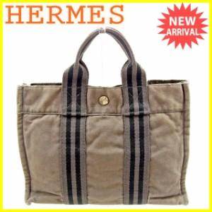 エルメス HERMES トートバッグ ハンドバッグ メンズ可 トートPM フールトゥ [中古] 人気 セール J17842