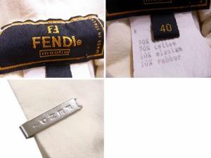 フェンディ FENDI カットソー 長袖 レディース ♯40サイズ タートル [中古] 良品 セール J17851