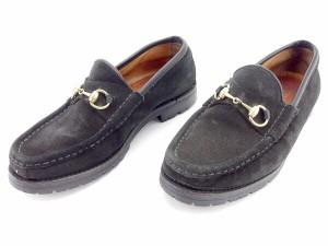 グッチ GUCCI ローファー シューズ 靴 レディース ♯36C ホースビット [中古] 人気 セール E1120