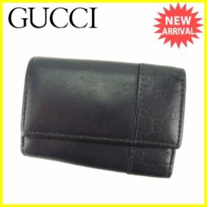 グッチ GUCCI キーケース 6連キーケース グッチシマ [中古] 人気 セール B853