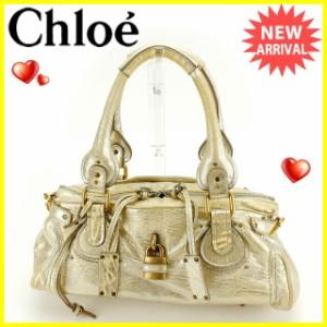 クロエ Chloe ショルダーバッグ ミニボストンバッグ レディース パティントン [中古] 人気 セール J12550