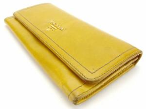 プラダ PRADA 長財布 ファスナー付き長財布 レディース 1M1132 ロゴ [中古] 人気 セール J12555