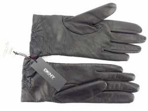 ダナキャランニューヨーク DKNY 手袋 グローブ レディース リボン [未使用] 未使用 セール J12558