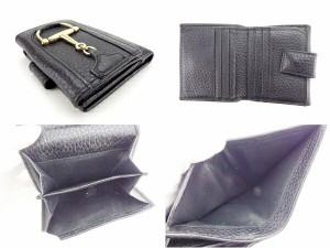 グッチ GUCCI Wホック財布 二つ折り財布 男女兼用 138030 ハスラービット [中古] 人気 セール J12580