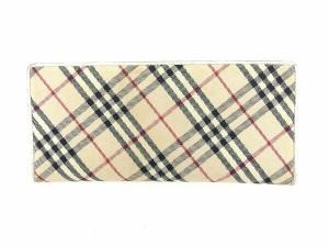 バーバリー BURBERRY 長財布 Wホック レディース ノバチェック [中古] 人気 セール L1012