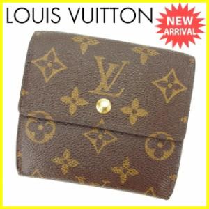 ルイヴィトン Louis Vuitton 財布 Wホック財布 モノグラム レディース 中古 Y5728