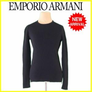 エンポリオ アルマーニ EMPORIO ARMANI ニット サイドZIP ♯44サイズ リブ [中古] 訳あり セール R1119