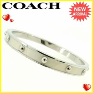コーチ Coach バングル スタッズ レディース 中古 Y6700