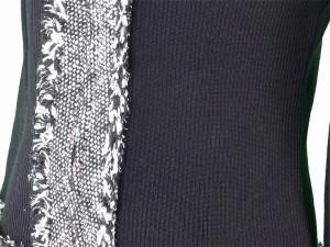 レリアン Leilian カーディガン ニットジャケット レディース ♯9サイズ ジップアップ ニット×ツィード 人気 セール【中古】 T2472