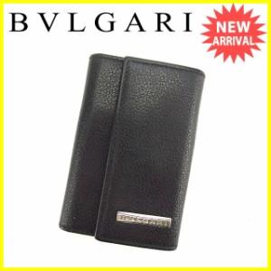 ブルガリ BVLGARI キーケース 6連キーケース メンズ可 ロゴプレート [中古] 良品 セール K438