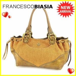 フランチェスコ ビアジア Francesco Biasia バッグ ショルダーバッグ FBマーク レディース 中古 T6064