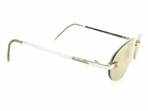 ディオール Dior サングラス メガネ アイウェア レディース メンズ 可 ツーポイント 縁なし ミラーレンズ [中古] 人気 セール T6107