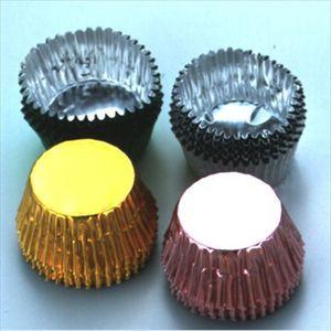チョコカップ チョコレート型 丸 5色 20個入 [01]
