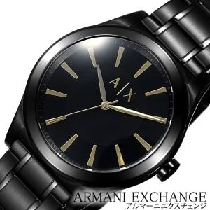 アルマーニエクスチェンジ腕時計 ARMANIEXCHANGE時計 ARMANI EXCHANGE 腕時計 アルマーニ エクスチェンジ 時計 メンズ/ブラック AX7102