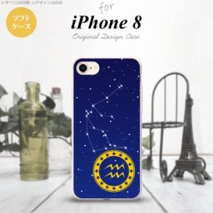 iPhone8 スマホケース カバー アイフォン8 星座 みずがめ座 nk-ip8-tp852