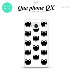 KYV42 スマホケース QUA Phone QX KYV42 カバー キュアフォン QX カエル・かえる (G) nk-kyv42-167