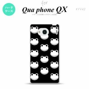 KYV42 スマホケース QUA Phone QX KYV42 カバー キュアフォン QX カエル・かえる (H) nk-kyv42-168