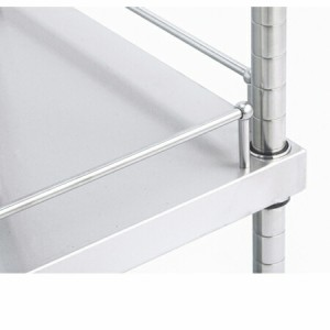 ガード付きソリッドキャニオンシェルフ(GSO) W1520×D460×H1900 4段(送料無料、代引不可)
