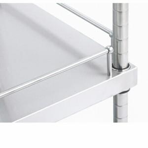 ガード付きソリッドキャニオンシェルフ(GSO) W1520×D460×H1900 5段(送料無料、代引不可)