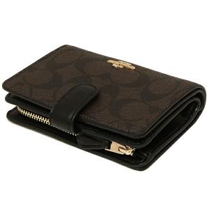 コーチ 財布 アウトレット COACH F23553 シグネチャー ミディアム コーナー ジップ ウォレット 二つ折り財布