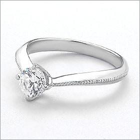 婚約指輪 エンゲージリング!  卸直営!ダイヤモンド 0.221ct  Dカラー IF EXCELLENT H&C 3EX   プラチナ(Pt900)鑑定書付き ラウンドブ