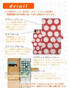 メール便送料無料 ドコモ ギャラクシー ノート エッジ GALAXY Note Edge SC-01G 手帳型スマホケース 【 ドット 】 di049 横開き (ドコモ