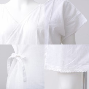 着付けセット(肌着)夏の浴衣姿を快適にしてくれる★浴衣に必須のクレープ生地インナーワンピース 2018年 浴衣 着付け ワンピース