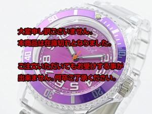 レビューで次回2000円オフ 直送 アバランチ AVALANCHE クオーツ 腕時計 AV-101P-CLVT-40 パープル