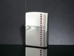 返品可 レビューで次回2000円オフ 直送 ジッポ ZIPPO ライター コーラスライン ルビーレッド CLR-SP