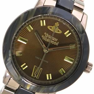 レビューで次回2000円オフ 直送 ヴィヴィアン ウエストウッド マーブルアーチ レディース 腕時計 VV165BRBR ブラウン