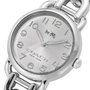 レビューで次回2000円オフ 直送 コーチ COACH デランシー クオーツ レディース 腕時計 14502259 シルバー