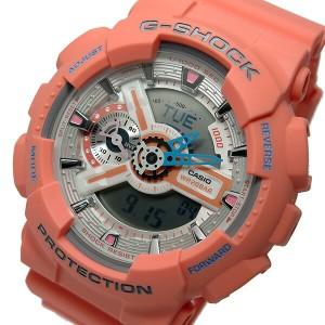 レビューで次回2000円オフ 直送 カシオ CASIO Gショック G-SHOCK クオーツ メンズ 腕時計 GA-110DN-4A ピンク